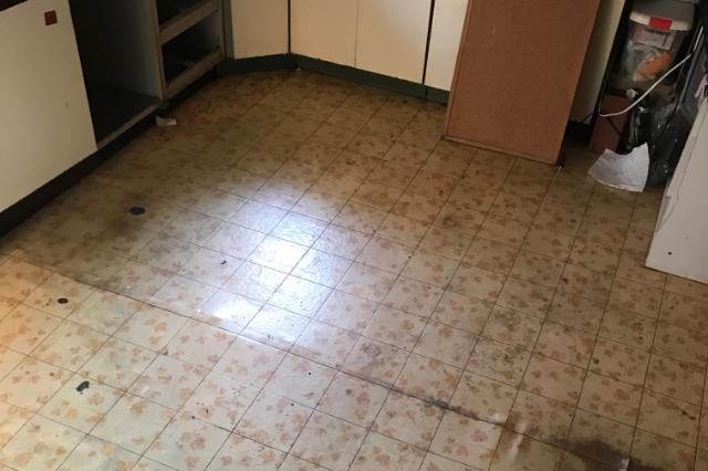 キッチンのリフォーム施工前の写真