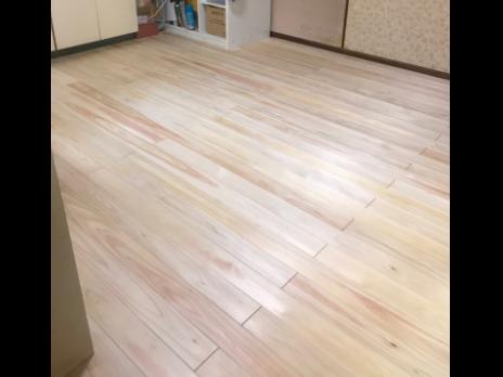 キッチンのリフォーム施工過程の写真4