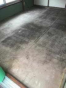 カビた床の写真
