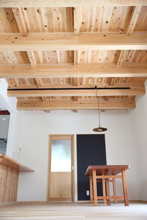 一階の天井の写真